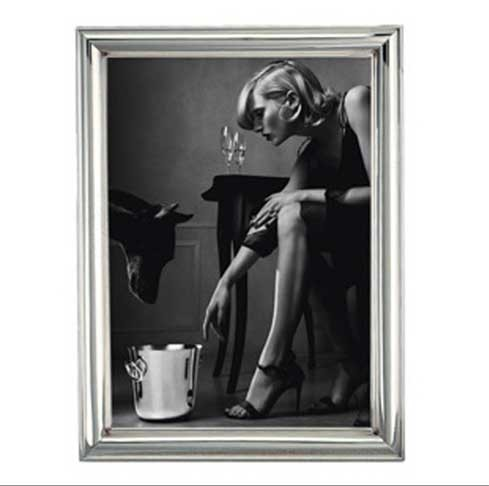 """$460.00 Albi Sterling Silver 4"""" x 6"""" Picture Frame"""