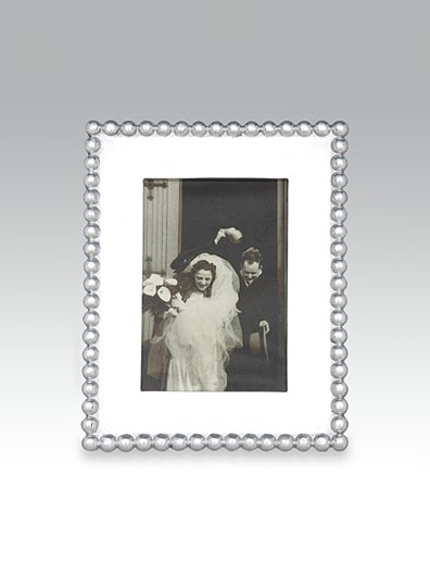 """Mariposa  Frames Pearled Edge Frame for 4"""" x 6"""" picture $69.00"""