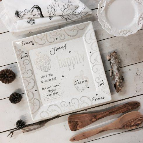 Museware Happily Ever After Wedding Platter image