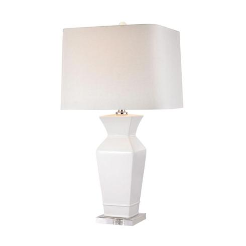 $255.00 Angular Tapered Neck Table Lamp