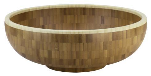 "$70.00 12"" Classic Bamboo Bowl"