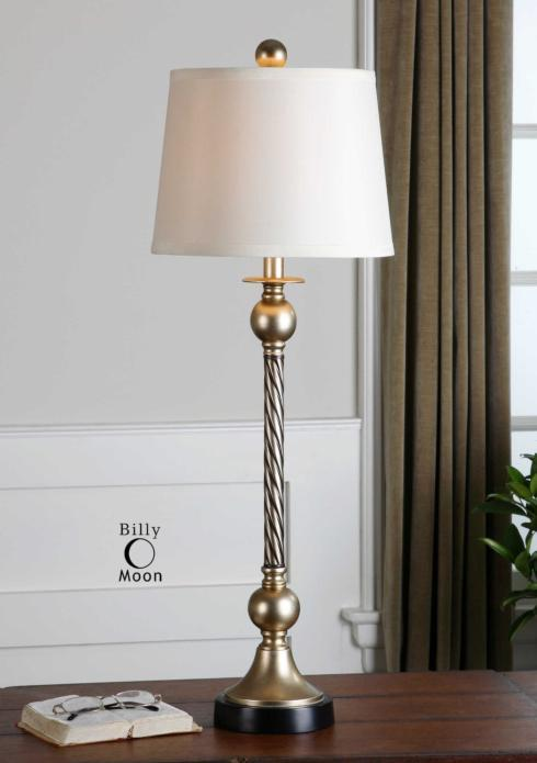 "$85.00 34"" Toano Lamp"