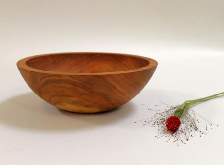 "Holland Bowl Mill   12"" Salad Bowl  $75.00"