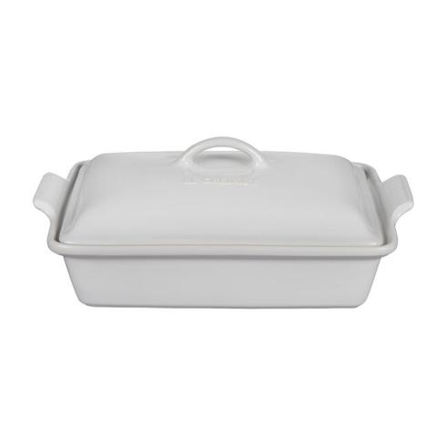 Heritage Rectangle covered casserole
