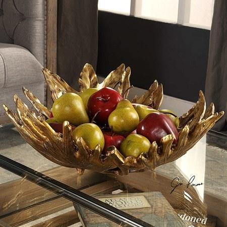 Home and Garden Exclusives   Leaf Bowl $208.00