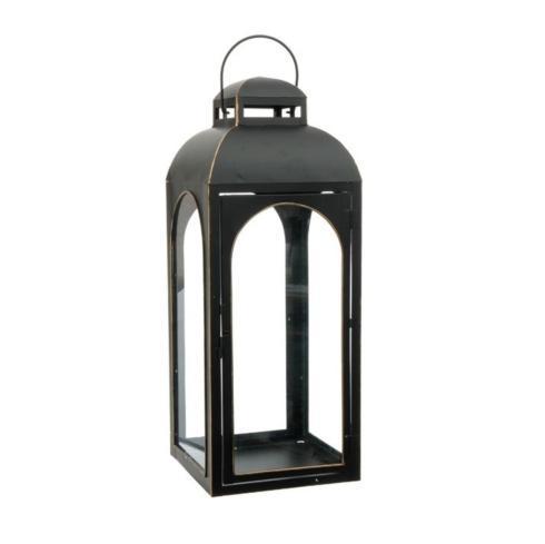 $106.00 Large Black Lantern