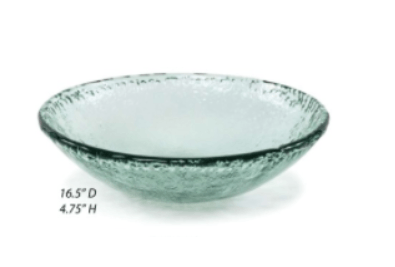 $55.00 Recycled Glass Iceberg Large Serving Bowl