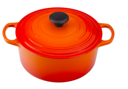 $310.00 4 1/2 Qt. Round Dutch Oven- Flame
