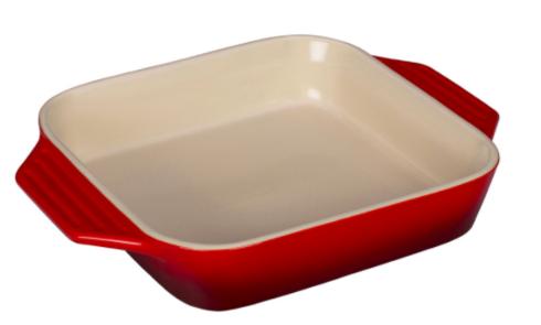 Le Creuset   Square Dish- Cerise $50.00