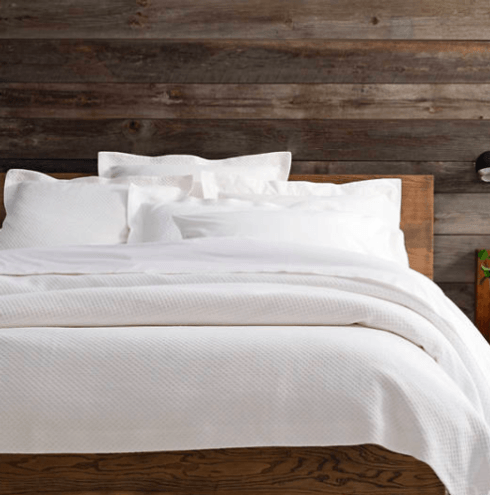 Pine Cone Hill   CLASSIC HEMSTITCH WHITE SHEET SET- Queen $226.00