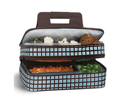 $69.00 Entertainer Hot & Cold Food Carrier, Blue