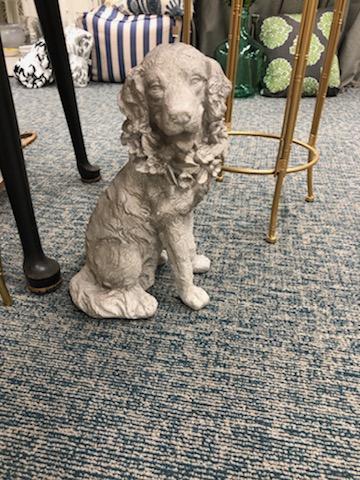 $80.00 Concrete Dog