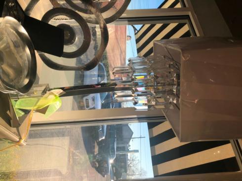 $275.00 crystal lamp