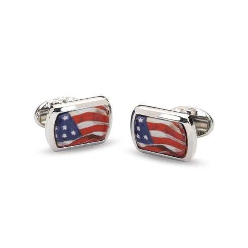 $120.00 Rectangular Palladium Cufflinks