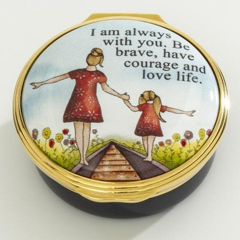 $250.00 I Am Always With You Enamel Box