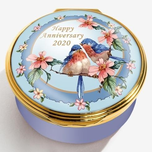 $250.00 2020 Happy Anniversary Enamel Box