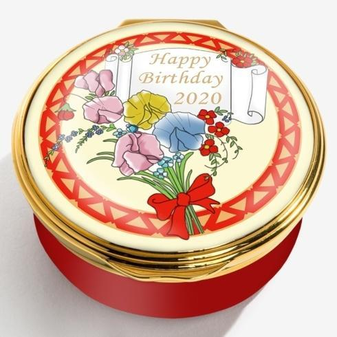 $250.00 2020 Happy Birthday Enamel Box