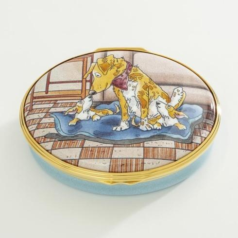 $325.00 The Most Important Thing in the World Enamel Box