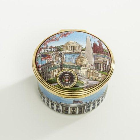 $275.00 Washington D.C Enamel Box