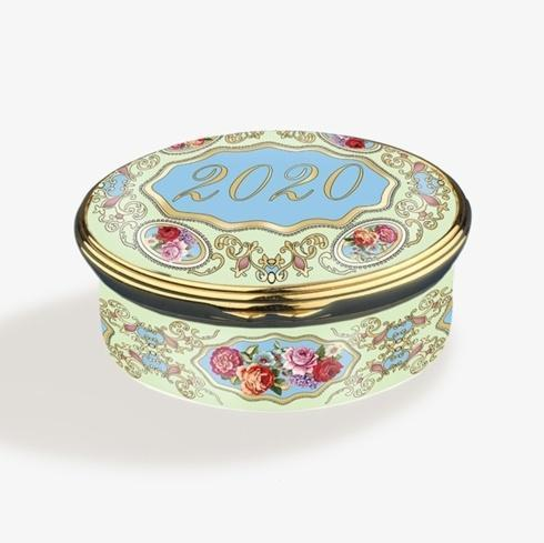 $275.00 2020 Year Enamel Box