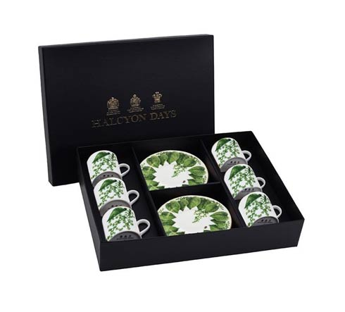 $565.00 Coffee Cup & Saucer Set of 6