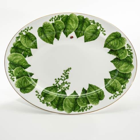 """$220.00 14"""" Oval Platter"""