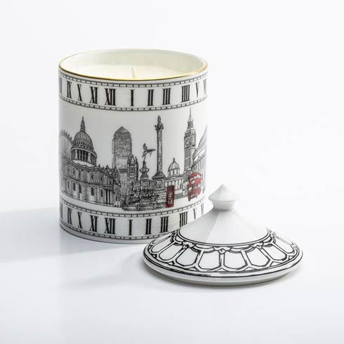 $145.00 The London Icons Lidded Candle