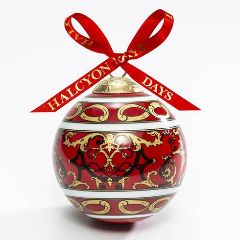 $49.00 Wallace Ballustrade Red Bauble