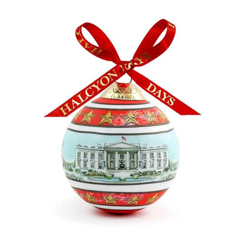 $49.00 The White House in the Snow Bauble