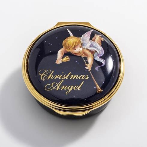 $250.00 Christmas Angel Enamel Box