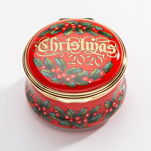 $275.00 The Annual Christmas Box 2020 Enamel Box