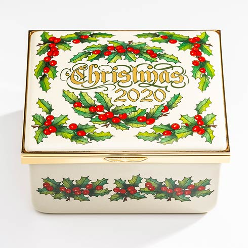$2,500.00 71st Birthday Edition Christmas Box 2020 Musical Enamel Box