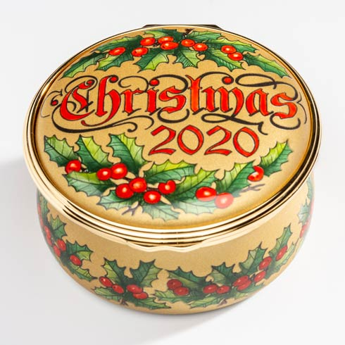 $695.00 70th Birthday Edition Christmas Box 2020 Enamel Box