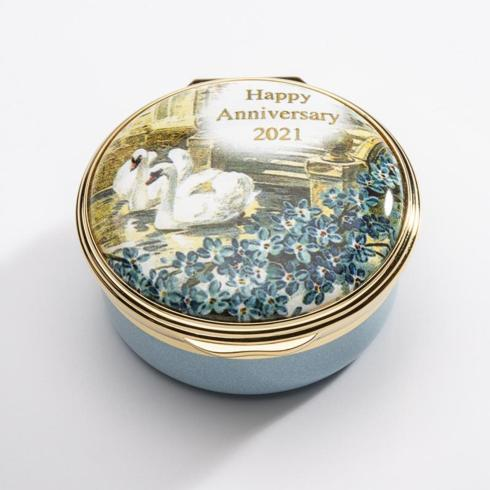 $250.00 2021 Happy Anniversary Enamel Box