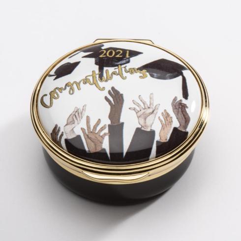$250.00 2021 Graduation Enamel Box