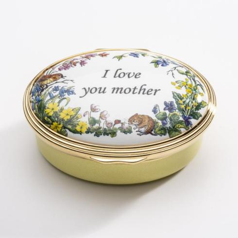 $285.00 I Love You Mother Enamel Box