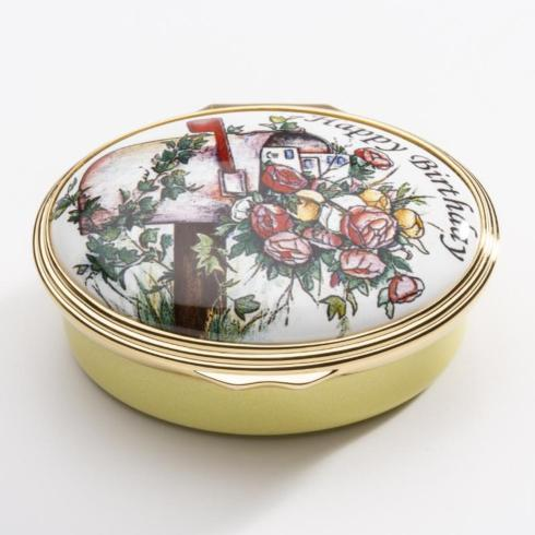$285.00 Happy Birthday Enamel Box