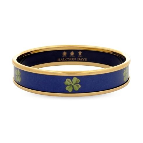 $150.00 Navy & Gold Medium Bangle