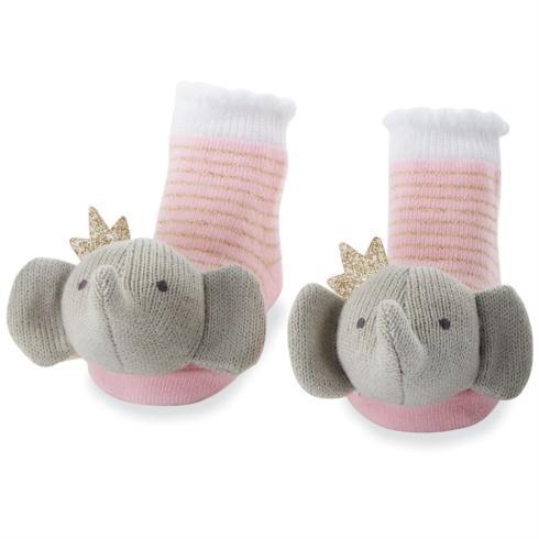 $12.00 Baby Socks Elephant w/pink