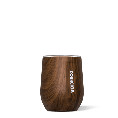 $24.95 Walnut Wood Stemless 12 oz.