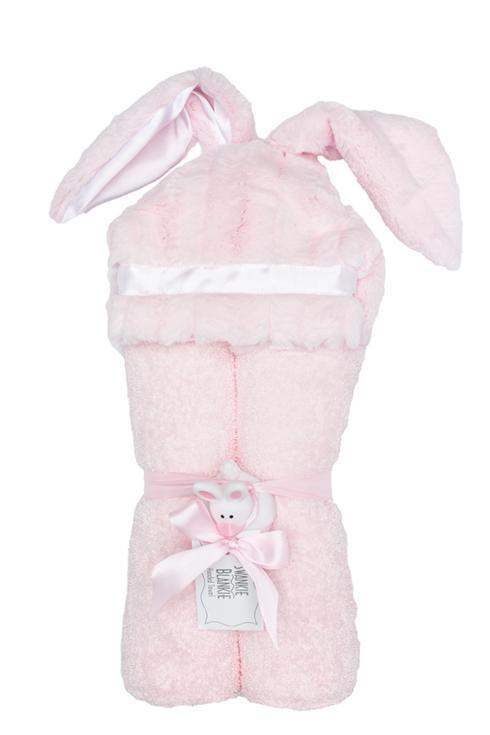 Hooded Towel Bunny Pink