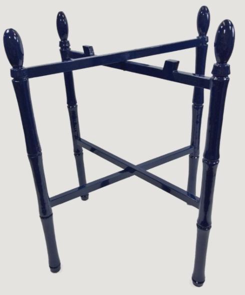 $117.00 Stinson Tray Stand- Navy