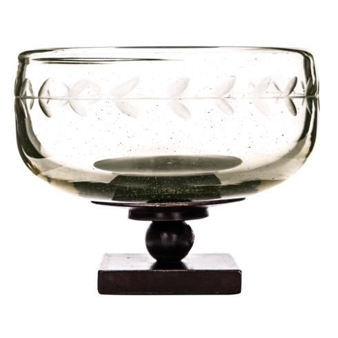 $185.00 Large Chalice Bowl with Iron Base