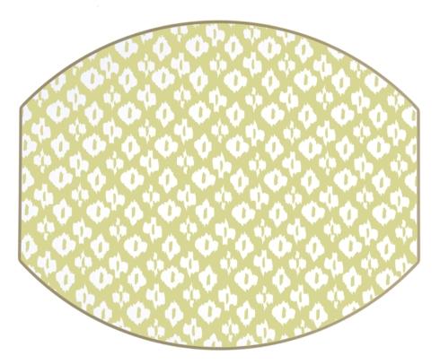 $36.95 Ellipse Placemats (Lime)