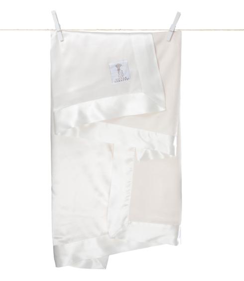 $58.00 Deluxe Velvet Blanket Cream