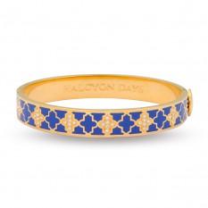 $185.00 Agama Cobalt Blue & Gold
