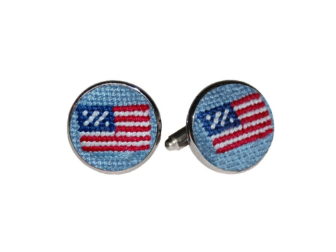 US Flag Cufflinks (Antique Blue) collection with 1 products