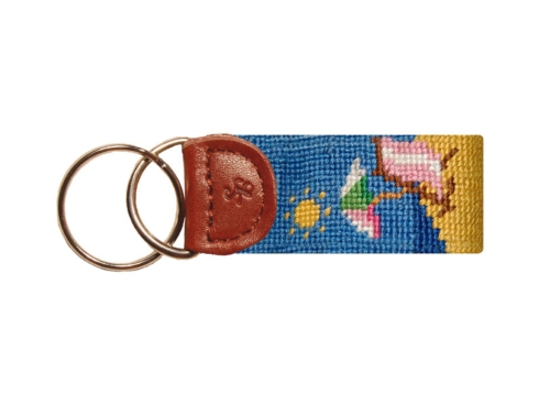 Beach Scene Key Fob collection with 1 products