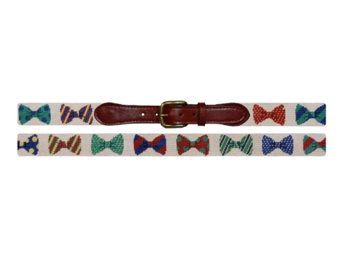 $165.00 Bowtie Belt (Cream)