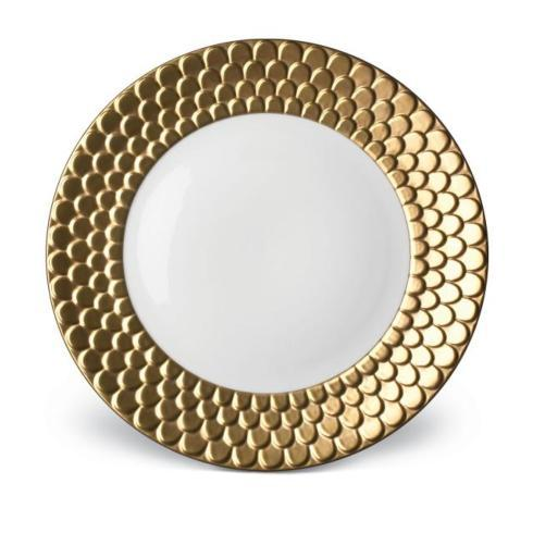 $350.00 Aegean Gold Sculpted Charger